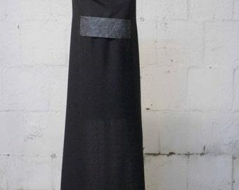 Gray Wool Scarf , Men's Gray Scarves , Gray Distressed Leather Scarf , Women's Gray Scarves ,Wool Scarves