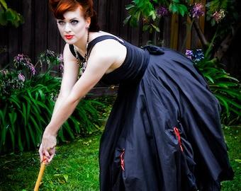 Ruffle Swing Dress