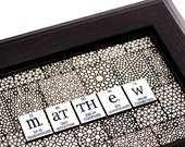Chemistry Sign Periodic Table Personalized Men Plaque