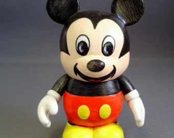 """Watercolor Mouse 3"""" Custom Vinylmation"""