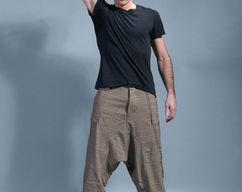 "harem pants man light brown, london boy ""Pulp"""