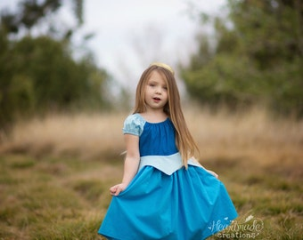 READY TO SHIP - Aurora - Everyday Princess Dress - Sleeping Beauty - Size 4