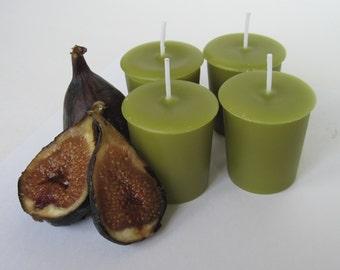 MEDITERRANEAN FIG (4 votives or 4-oz soy jar candle)