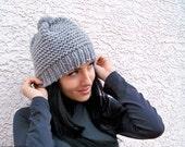 Knit Hat Pattern, Knitting Patterns Hats, Hat Patterns, Chunky Hat Pattern, Beanie Pattern Winter Hat Pattern Knit Patterns Instant Download