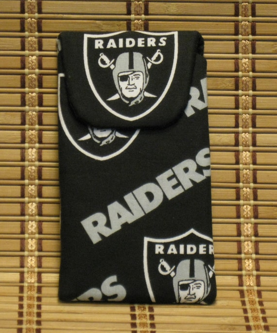 Raiders Eyeglass Case / Cell Phone Case with Magnetic Closure