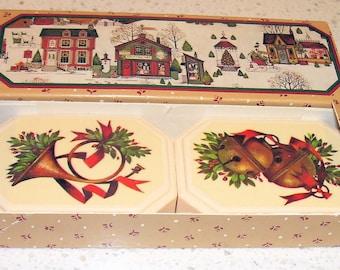 AVON Holiday HOSTESS SOAPS 1982