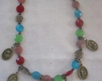 "SALE Vintage ""Milagros"" Necklace"