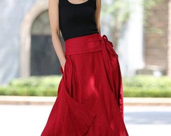 Wrap skirt | Etsy