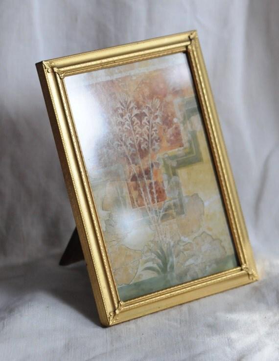 gold picture frame 41 8 x 6 opening postcard. Black Bedroom Furniture Sets. Home Design Ideas