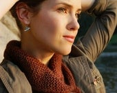 Pdf knitting pattern for Shawl Collared Cowl