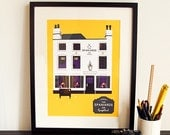The Spaniard's Inn London Pub Poster A3