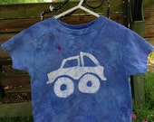 Monster Truck Shirt, Kids Monster Truck Shirt, Kids Truck Shirt, Boys Truck Shirt, Blue Monster Truck Shirt, Blue Truck Shirt (2T)