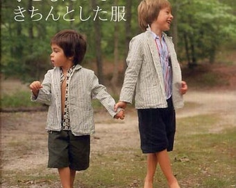 New York Style Formal Clothes - Japanese Sewing Pattern Book for Boy, Girl Clothing - Yuji Ogata - Easy Sewing Tutorial, Shirt, Jacket, B227
