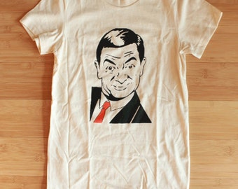 Women's American Apparel Mr. Bean Shirt All Sizes