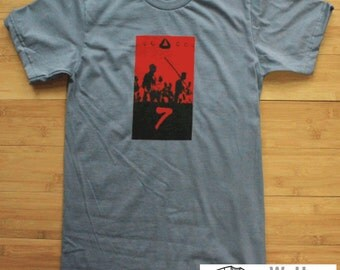 Seven Samurai American Apparel Shirt Martial Arts