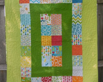 Mixed Bag Baby Quilt