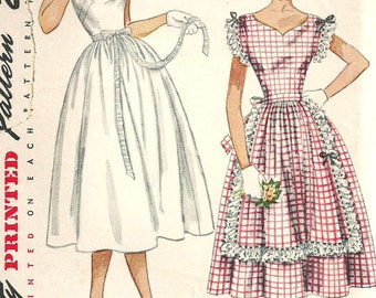 Simplicity 3428 Vintage 50s Sewing Pattern // Dress Size 12