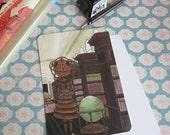 Postcard, Robot Librarian