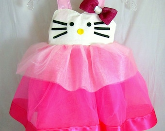 Hello kitty tutu | Etsy