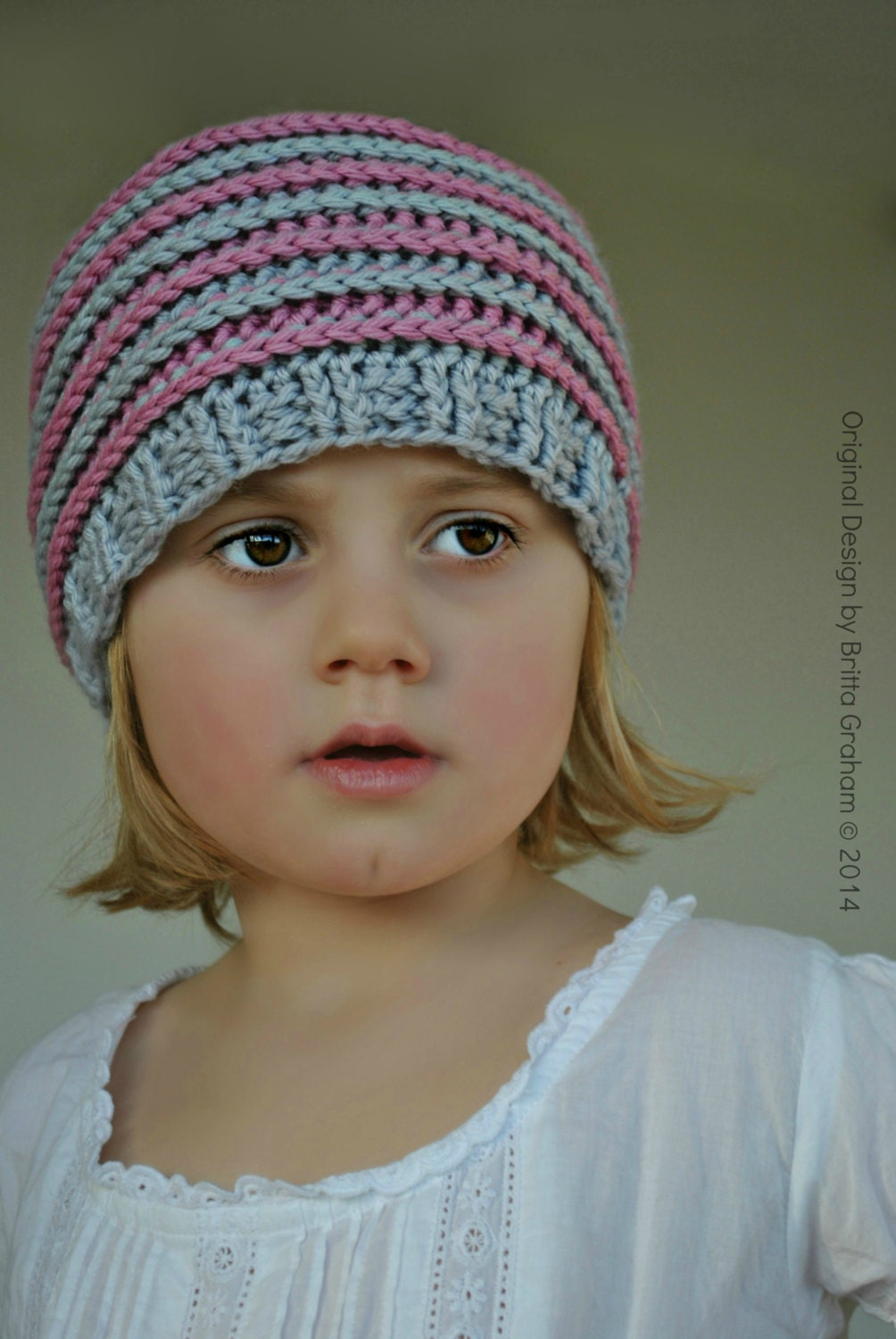 Knitting Pattern Hat Dk : Crochet hat pattern slouchy P306 using Double Knitting DK