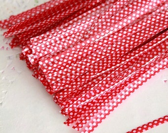 20 pcs - Polka Dot Twist Ties - Gift Wrap Bag - Wrapping Packaging Supplies - Gift Bag Decoration - Ready to Ship