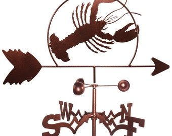 Hand Made Lobster Shellfish Weathervane NEW