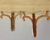 Plate Stand, Plaque Stand, Picture Stand, Wood Stand - small and medium - quantity 2 - made to order
