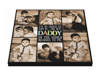 Personalized Photo Canvas Print, 24x24, Photo Canvas