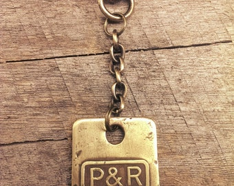 READING RAILROAD // Keychain / P&R Original Luggage Tag