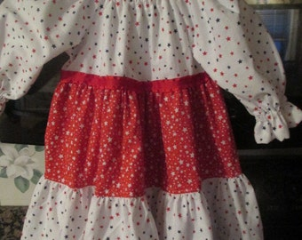 Custom Tiered Ruffle Dress