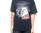 vintage men's EAGLE epic mountain short sleeve t-shirt