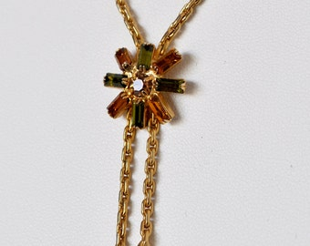 Vintage Hobe Lariat Necklace