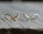 Versatile, Unique Teardrop Ring, 14K Gold Filled or Silver Ring - Original Statement Stacking Ring  By Pale Fish NY