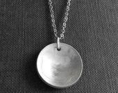 Italian Coin Necklace - Italian 5 Lire Necklace - 'Cinque Lire'