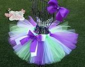 BUZZ LIGHTYEAR inspired- Green, White, and Purple baby/child Tutu Set:  Newborn-5T
