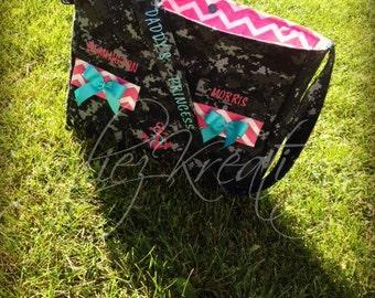 Military Camo Diaper bag- Made to Order