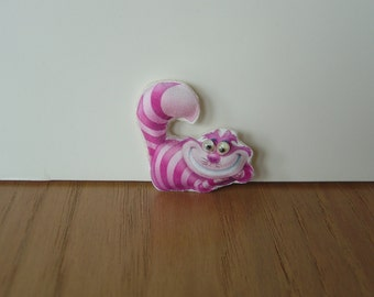 Miniature Cheshire Cat Dollhouse Stuffed Animal Toy or Pillow 1:12 scale