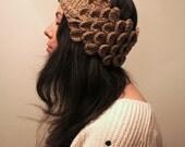 PDF Crochet Pattern - Laurel Leaf Headband