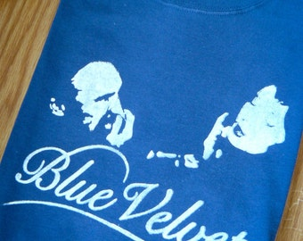 Blue Velvet Inspired Screenprinted T-Shirt