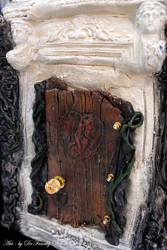 Fairy door secret fortress faerie dream door by faefactory for The faerie door
