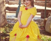Girl's Dress Belle Beauty and the Beast