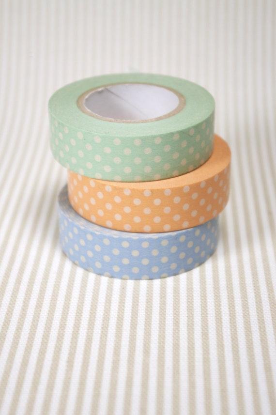 40% OFF SALE! Washi tape - set of 3 prints