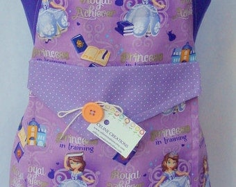 Kids Apron Princess Sofia
