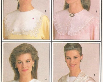 Simplicity Pattern No. 7995 - Misses' Set of Collars - One Size