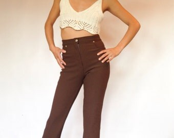 70s High Waisted Pants