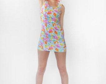 Pastel Frosting Mini Dress