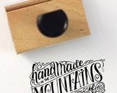 FULL CUSTOM - Hand lettered stamp