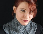 PDF knitting pattern for 'Vault' Cowl Collar