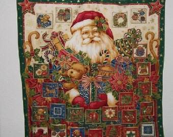 Christmas Advent Calendar - Jolly Santa