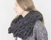The Florham Oversized Scarf - Pepper